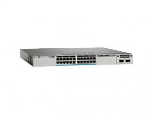 WS-C3850-24XU-S - Cisco Catalyst 3850 Series 24-Ports UPoE 10GBase-T Manageable Layer3 Rack-mountable 1U Switch